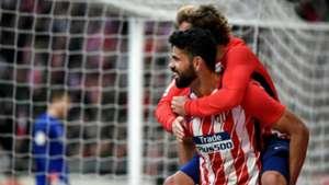 Diego Costa Antoine Griezmann Atletico Madrid Athletic Bilbao LaLiga
