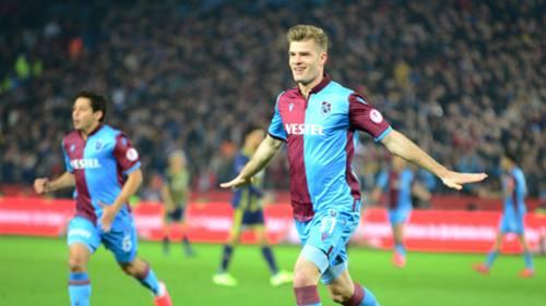 Alexander Sorloth Trabzonspor Fenerbahce