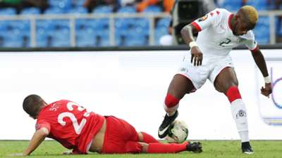 Steeve Yago of Burkina Faso & Naim Sliti of Tunisia