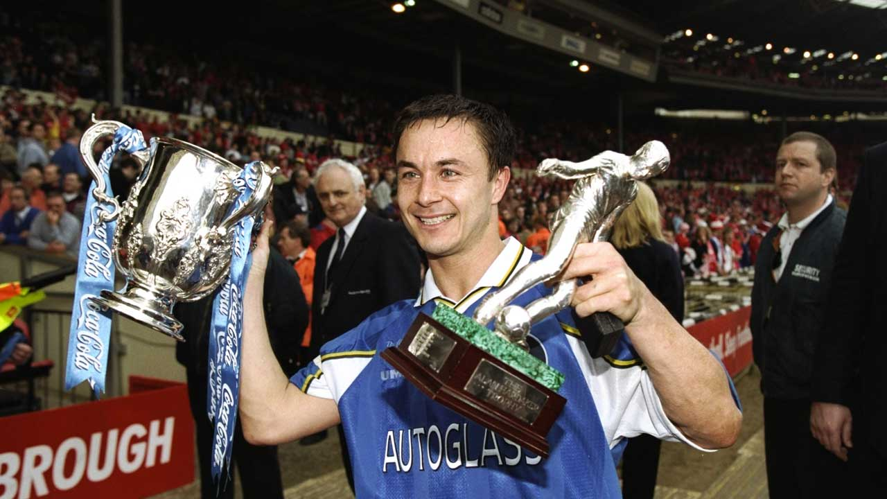 Chelsea 1998 League Cup win - Dennis Wise