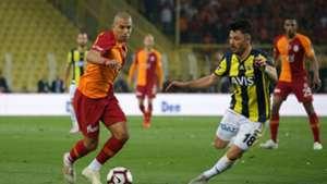 Sofiane Feghouli Tolgay Arslan Galatasaray Fenerbahce 04142019