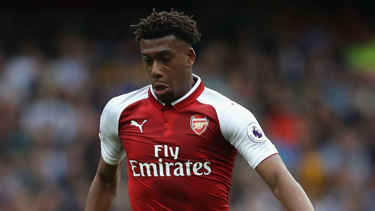 Alex Iwobi Arsenal 2017