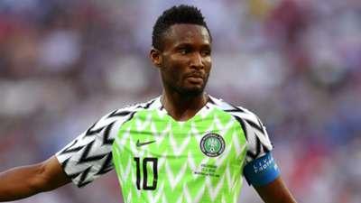 John Obi Mikel Nigeria 2018