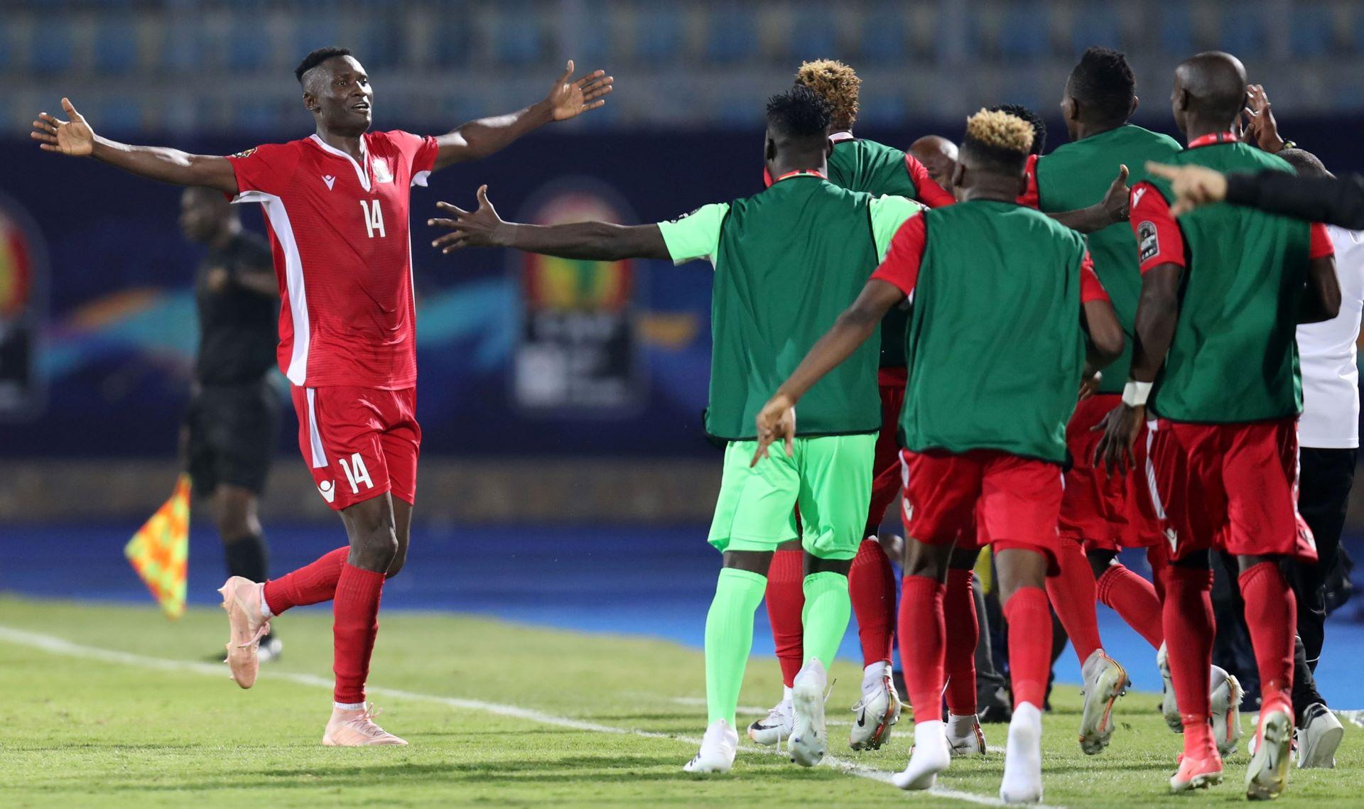 Michael Olunga Kenya v Tanzania Afcon 2019