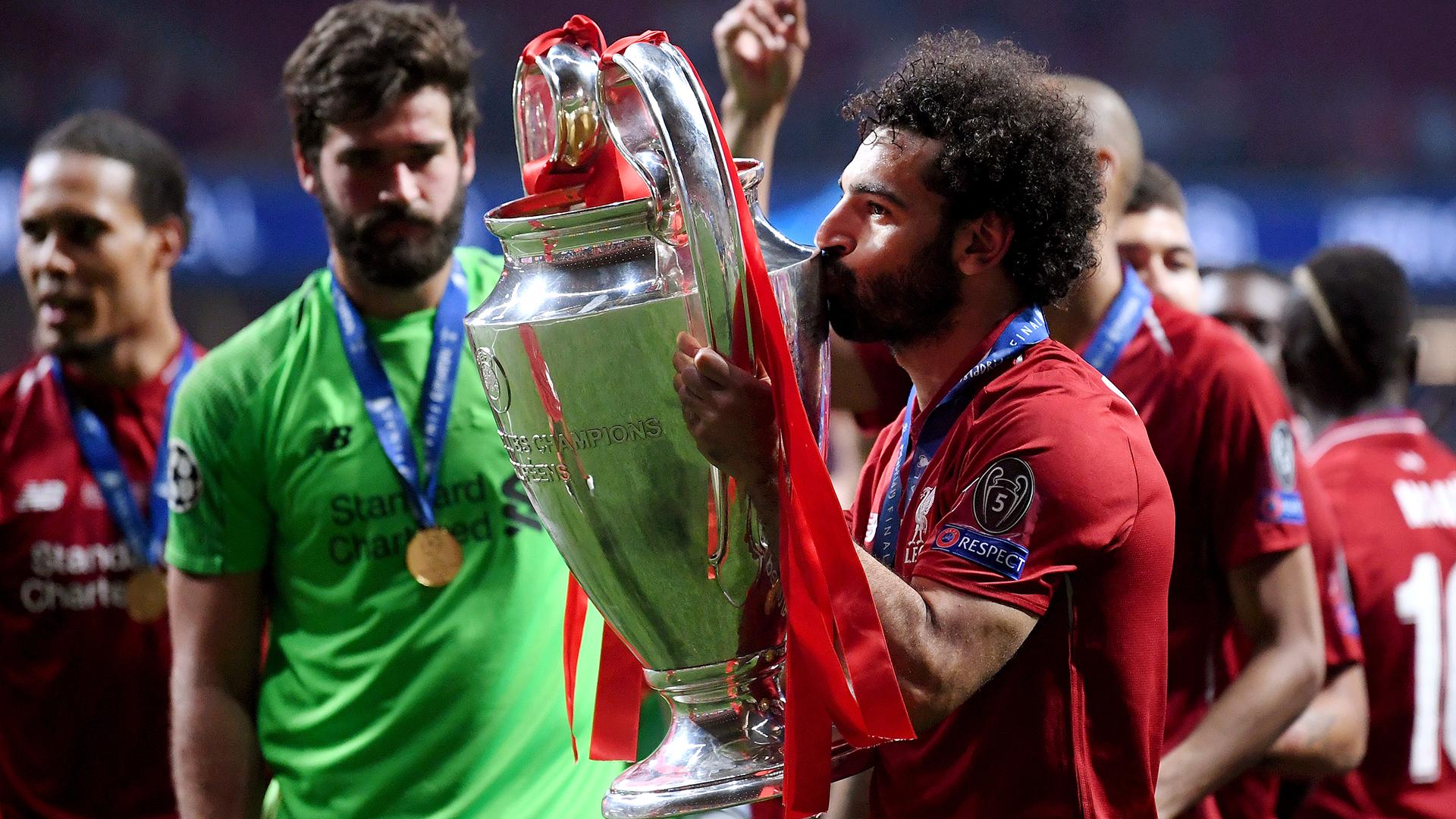 Mohamed Salah Liverpool Champions League 2018-19