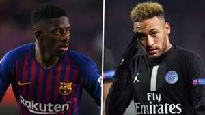 Ousmane Dembele, Neymar