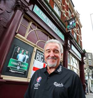 Terry Venables Carlsberg