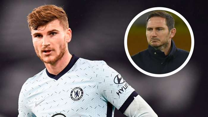 Timo Werner Frank Lampard GFX Chelsea
