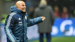 Jorge Sampaoli Argentina Nigeria friendly 14112017