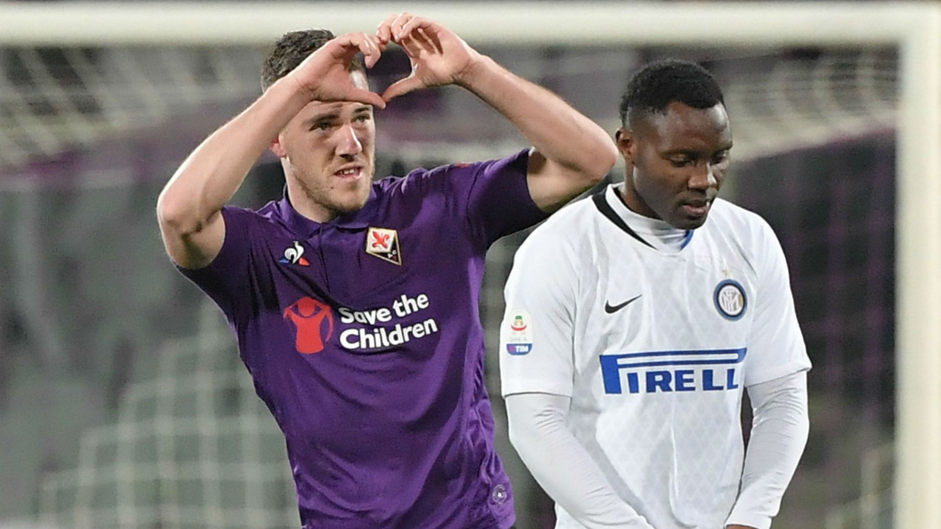 VIDEO-Highlights, Serie A: Fiorentina - Inter Mailand 3:3