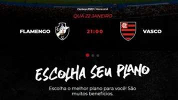 Vasco Flamengo X Tudo 19 01 2020