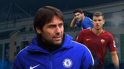 GFX Edin Dzeko Chelsea