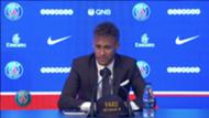 Neymar Unveiling screengrab 04082017