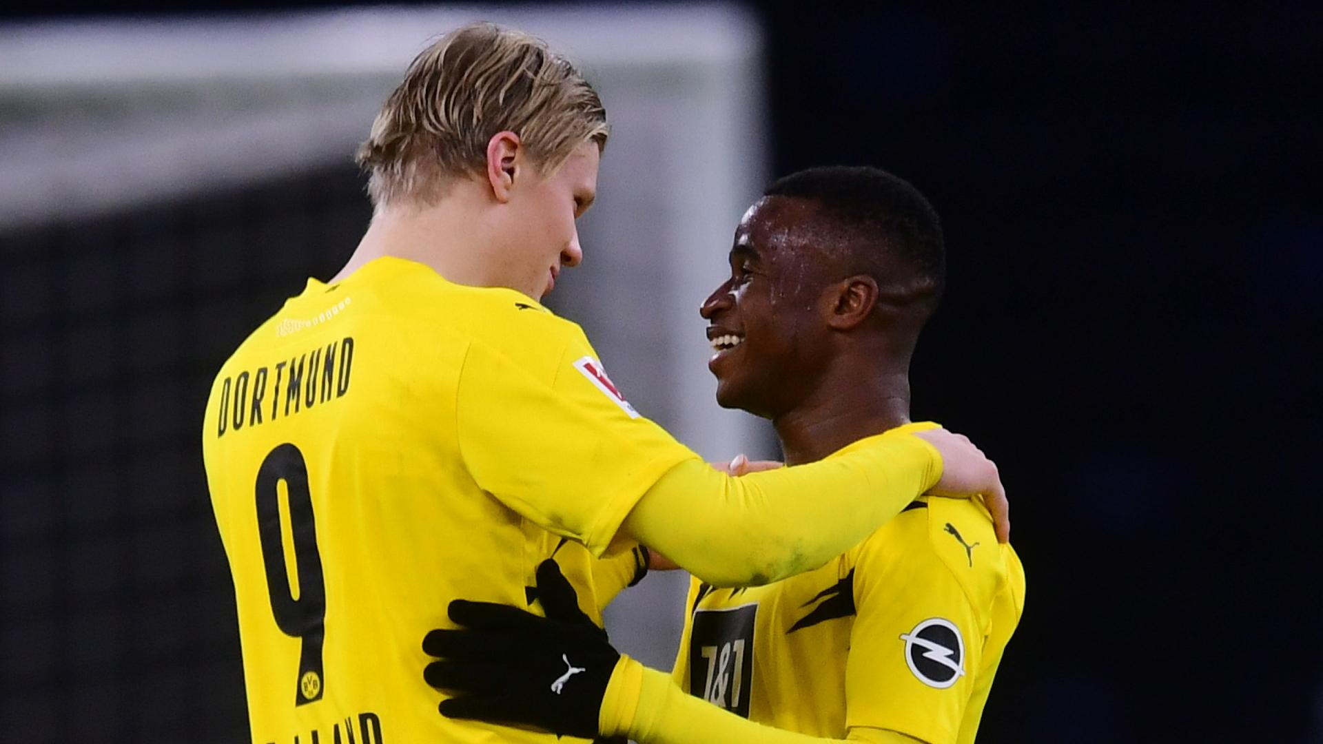 'The striker's striker' – Dortmund's Moukoko hails Haaland