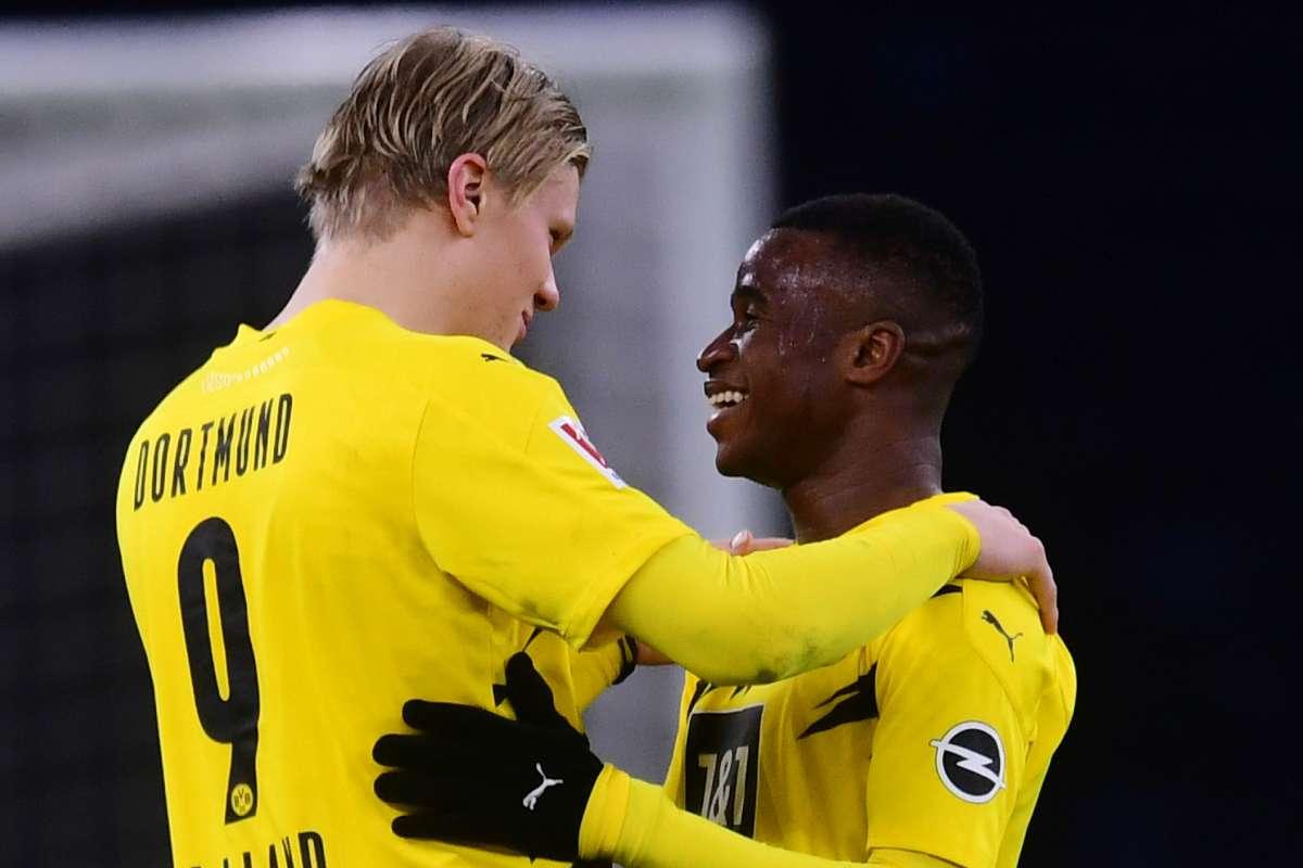 "Dortmund - Haaland : ""Moukoko est le plus grand talent au monde""   Goal.com"