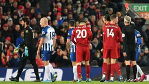Alisson Liverpool Brighton Red Card 30112019