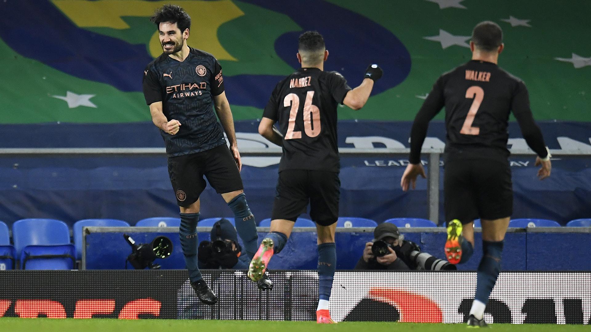 Manchester City's quadruple dream remains intact thanks to Gundogan