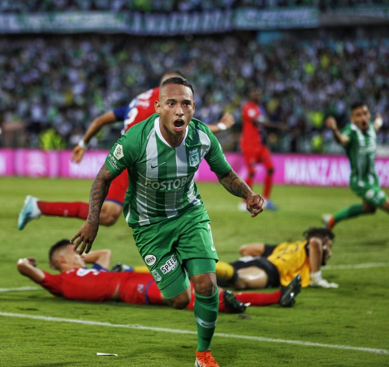 Accidente de tránsito entre futbolistas del Nacional y Yeison Jiménez