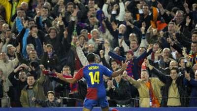 Thierry Henry Barcelona Lyon Champions League