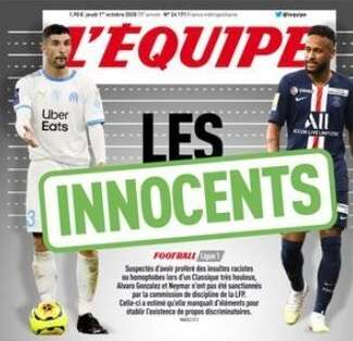 1 October L'Equipe embed only