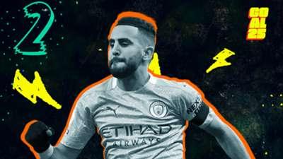 Goal 25 2020 02 Riyad Mahrez Manchester City Algeria