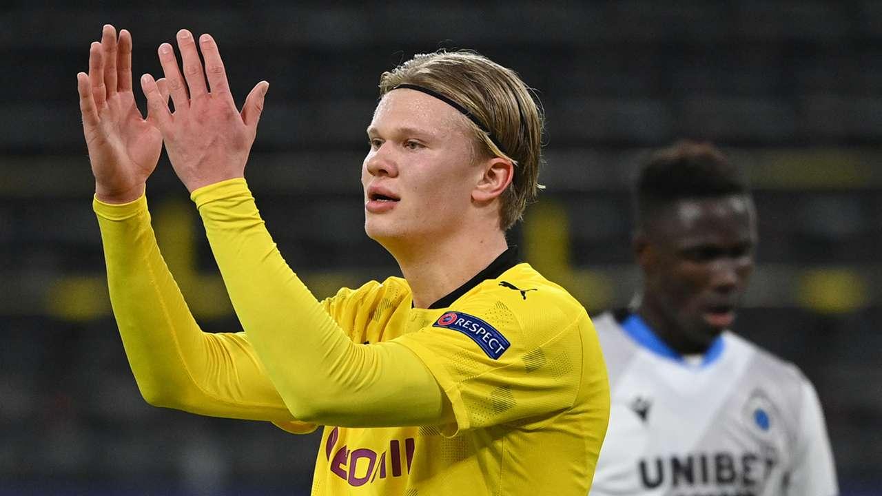 Erling Haaland Borussia Dortmund 2020