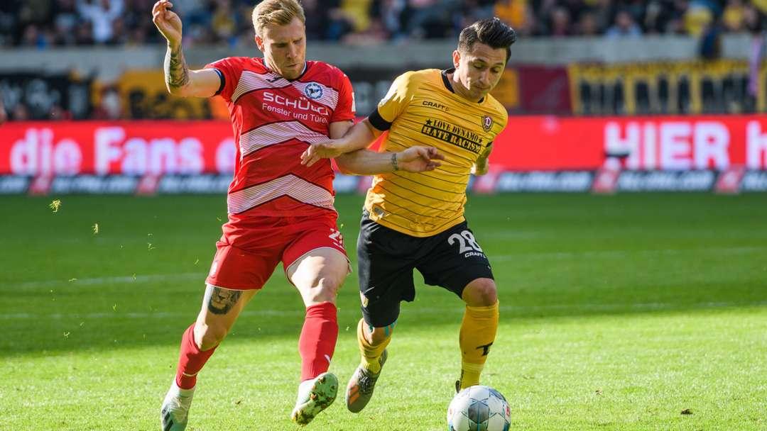 Dynamo Dresden Live Ticker Heute
