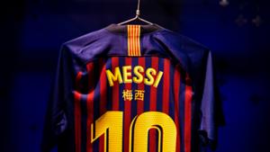 Lionel Messi Barcelona CNY 2018-19