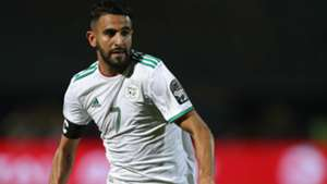 Riyad Mahrez of Algeria during the 2019 Africa Cup of Nations Finals last 16 match between Algeria