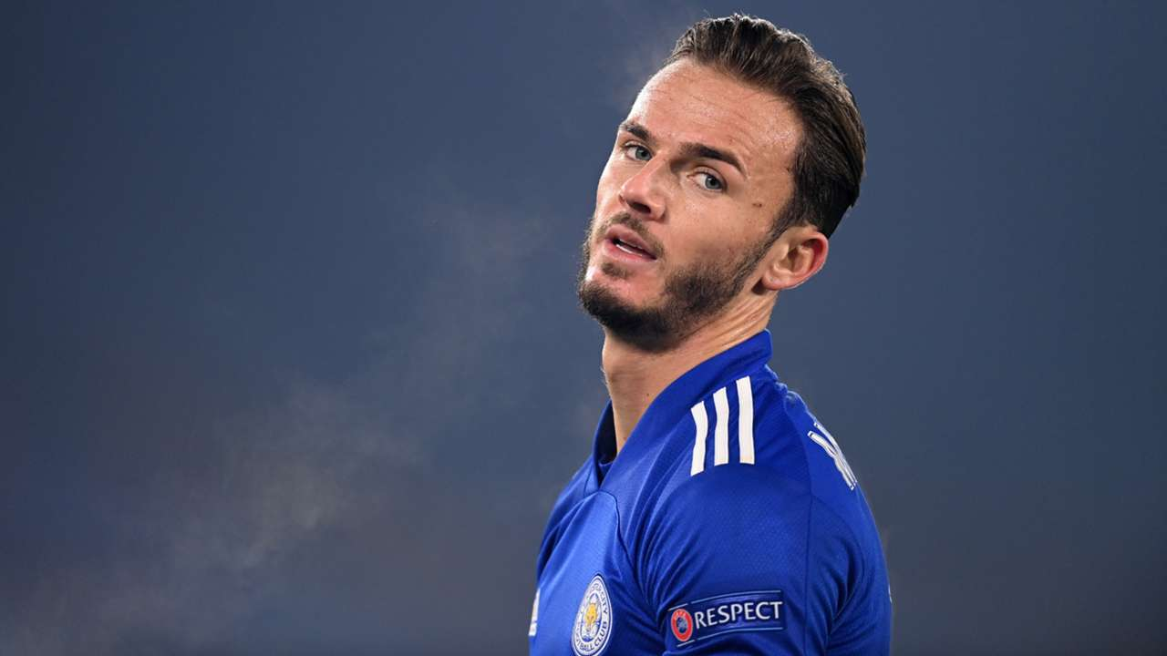 James Maddison Leicester 2020-21