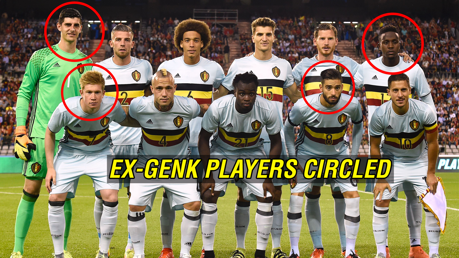 From De Bruyne to Courtois - How Genk's 'university of football' became  Europa League contenders