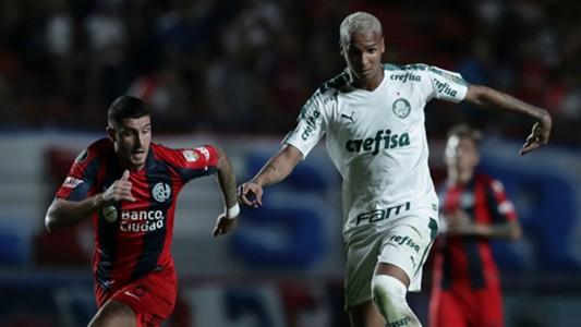 Deyverson San Lorenzo Palmeiras Libertadores 02 04 2019