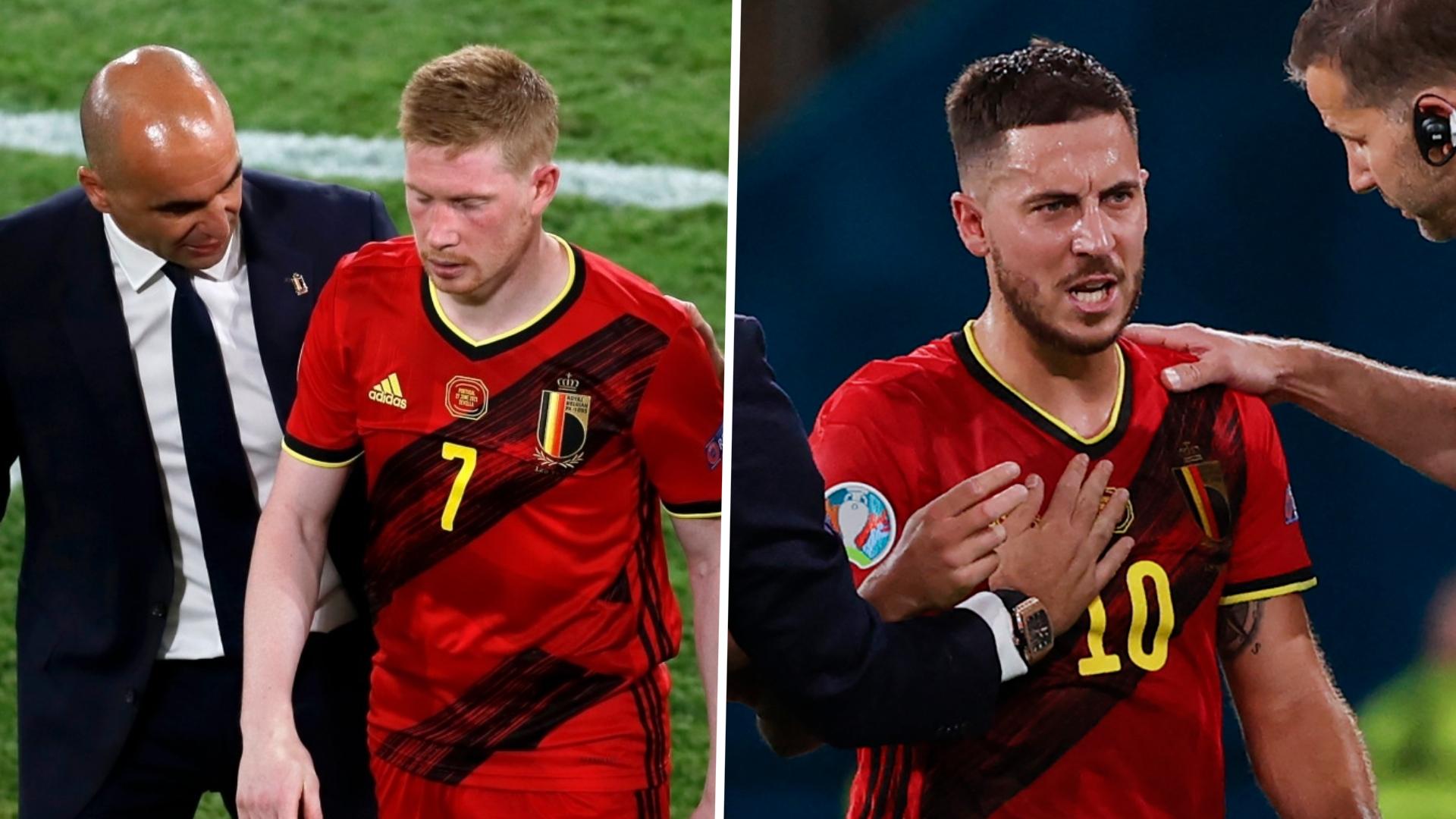 Will Belgium stars Kevin De Bruyne & Eden Hazard be fit to play vs Italy?