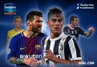 Cover Vaseline I Juventus - Barcelona