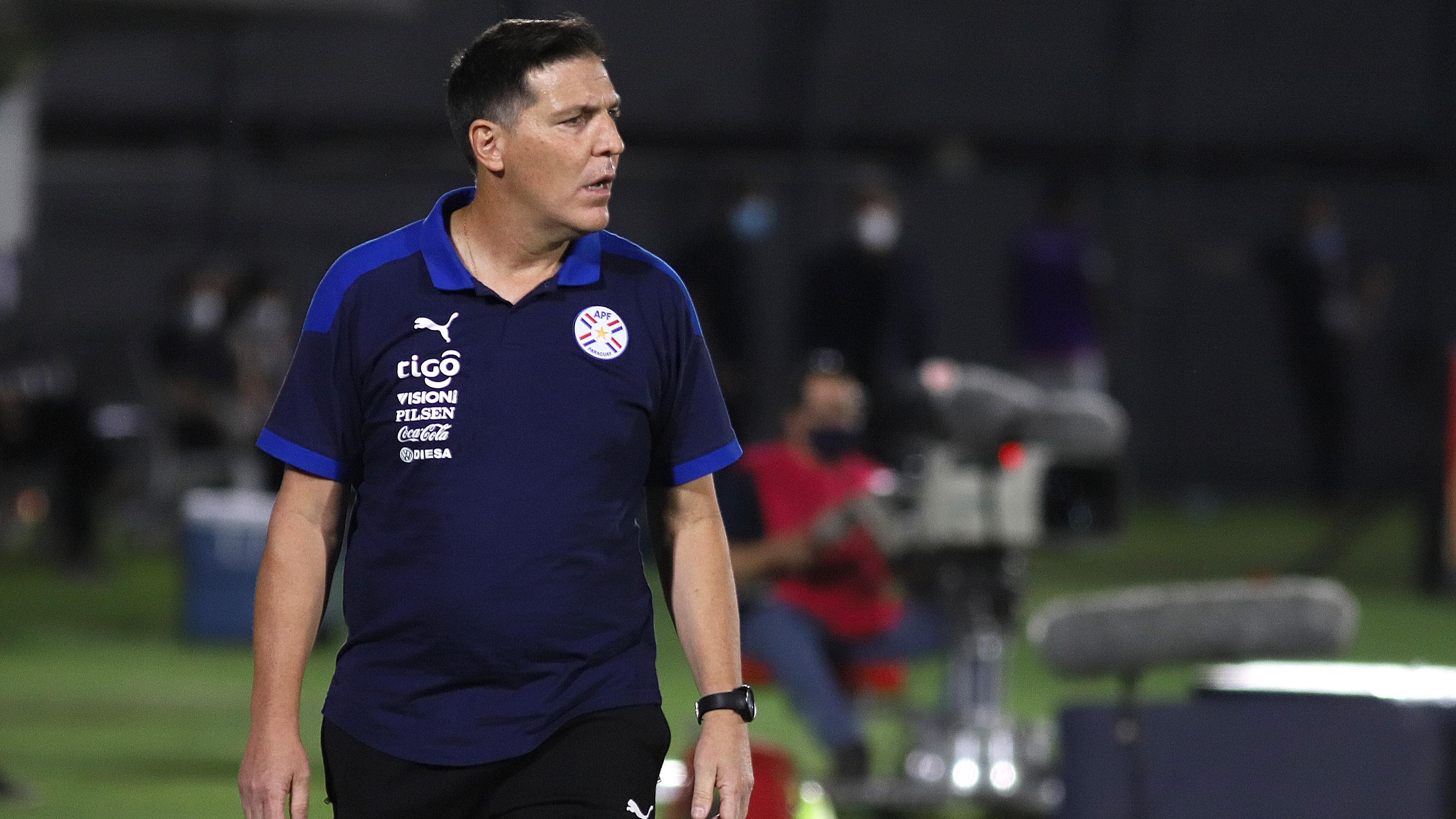 Los números de Berizzo con la selección de Paraguay   Goal.com