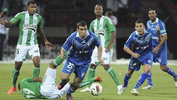 Atlètico Nacional vs Vélez Copa Libertadores 2012