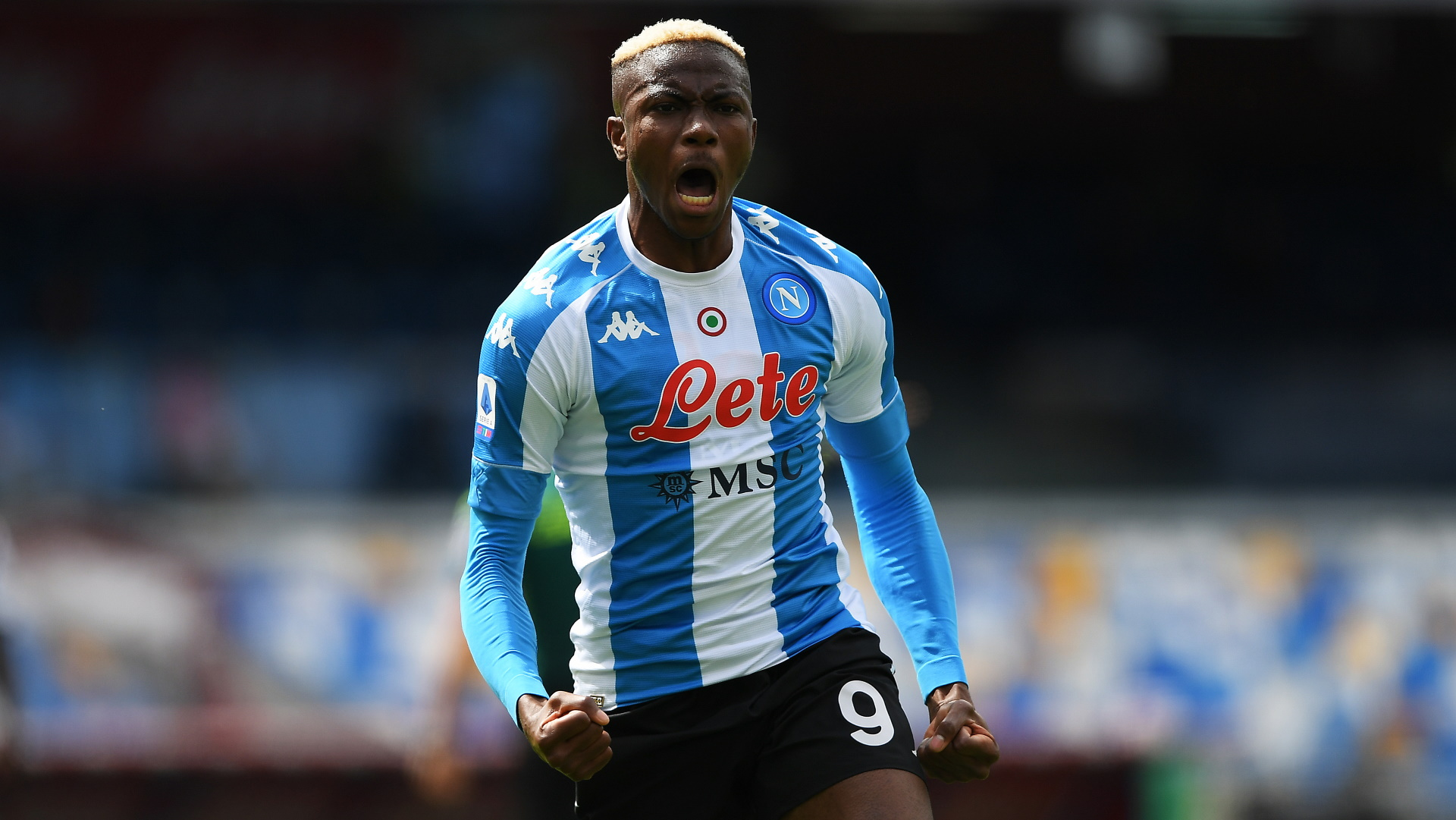Osimhen scores four goals as Napoli beat Anaunia 12-0