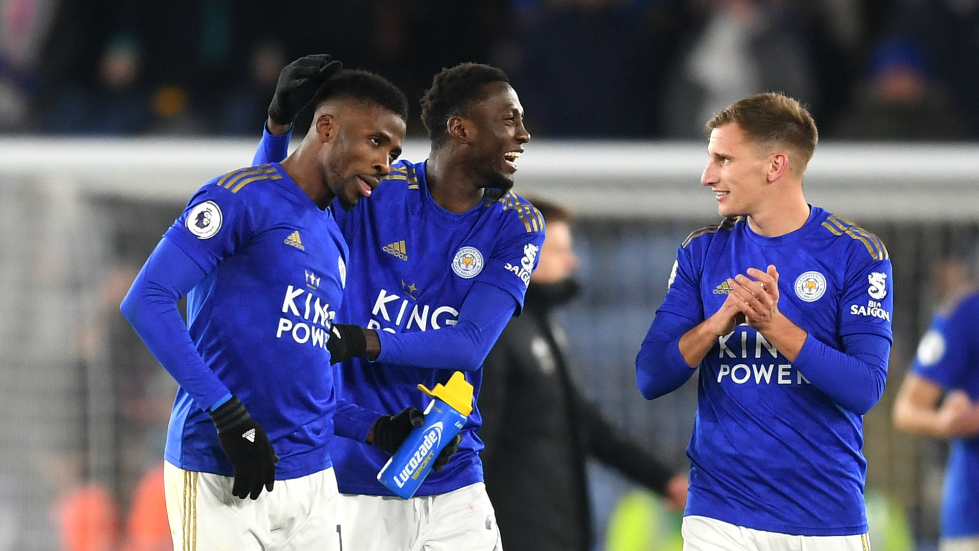 Leicester City forward Iheanacho hails Ndidi as a 'great passer of the ball'