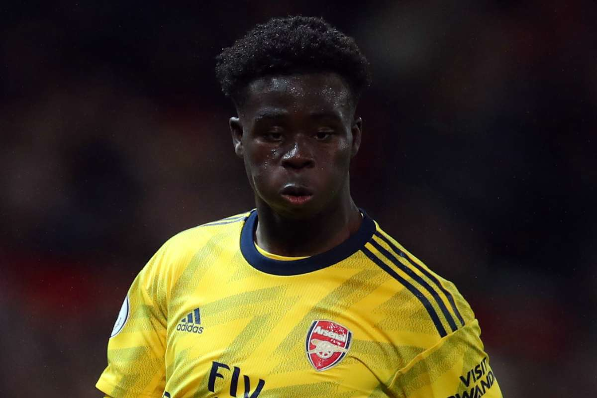 Image result for I AM YET TO DECIDE ON PLAYING FOR NIGERIA - BUKAYO SAKA