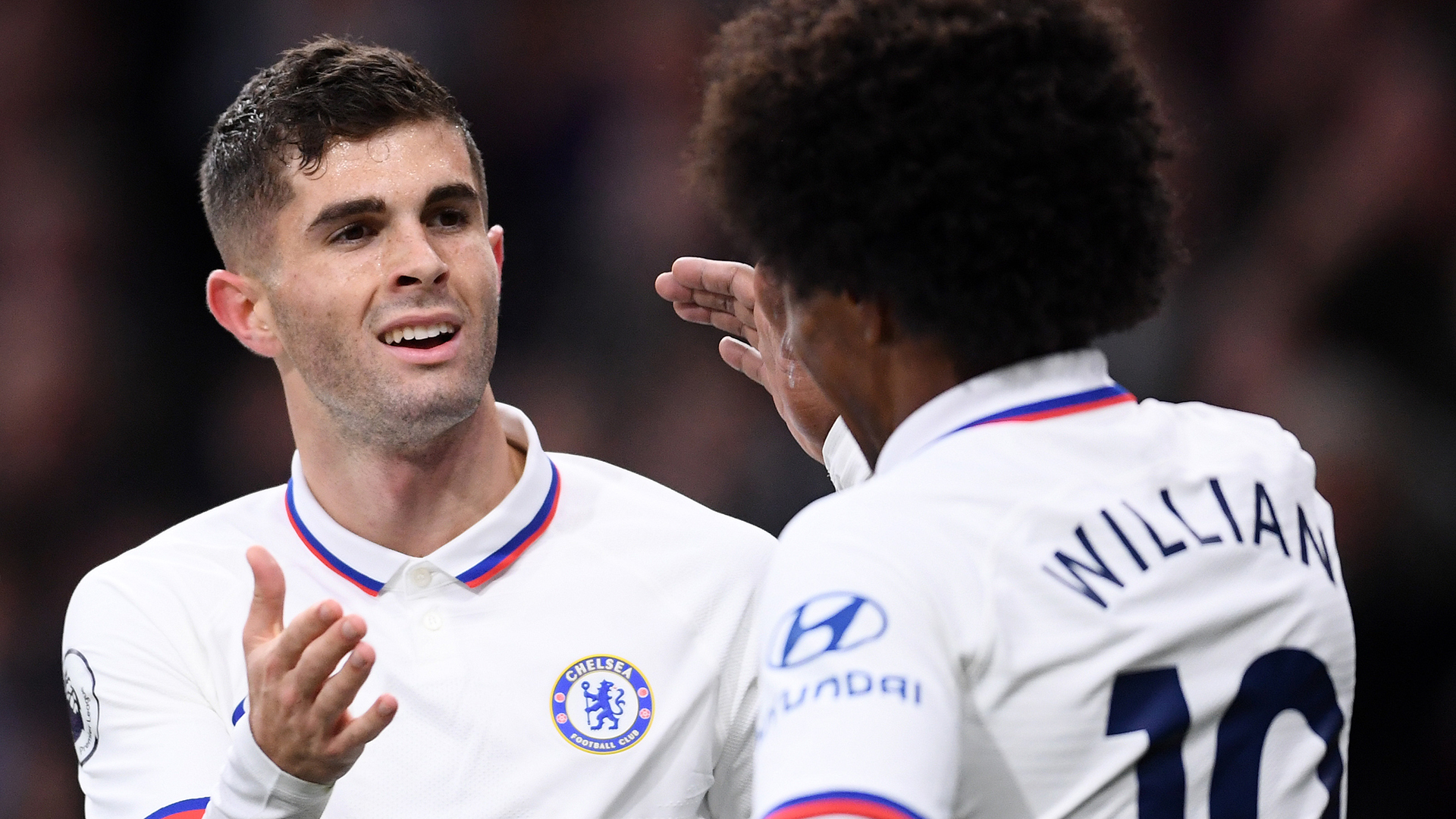 Christian Pulisic Willian Chelsea Burnley