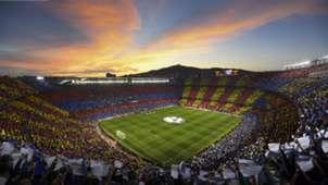 Barcelona Camp Nou tifo