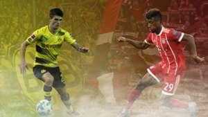 GFX Pulisic Dortmund Coman Bayern