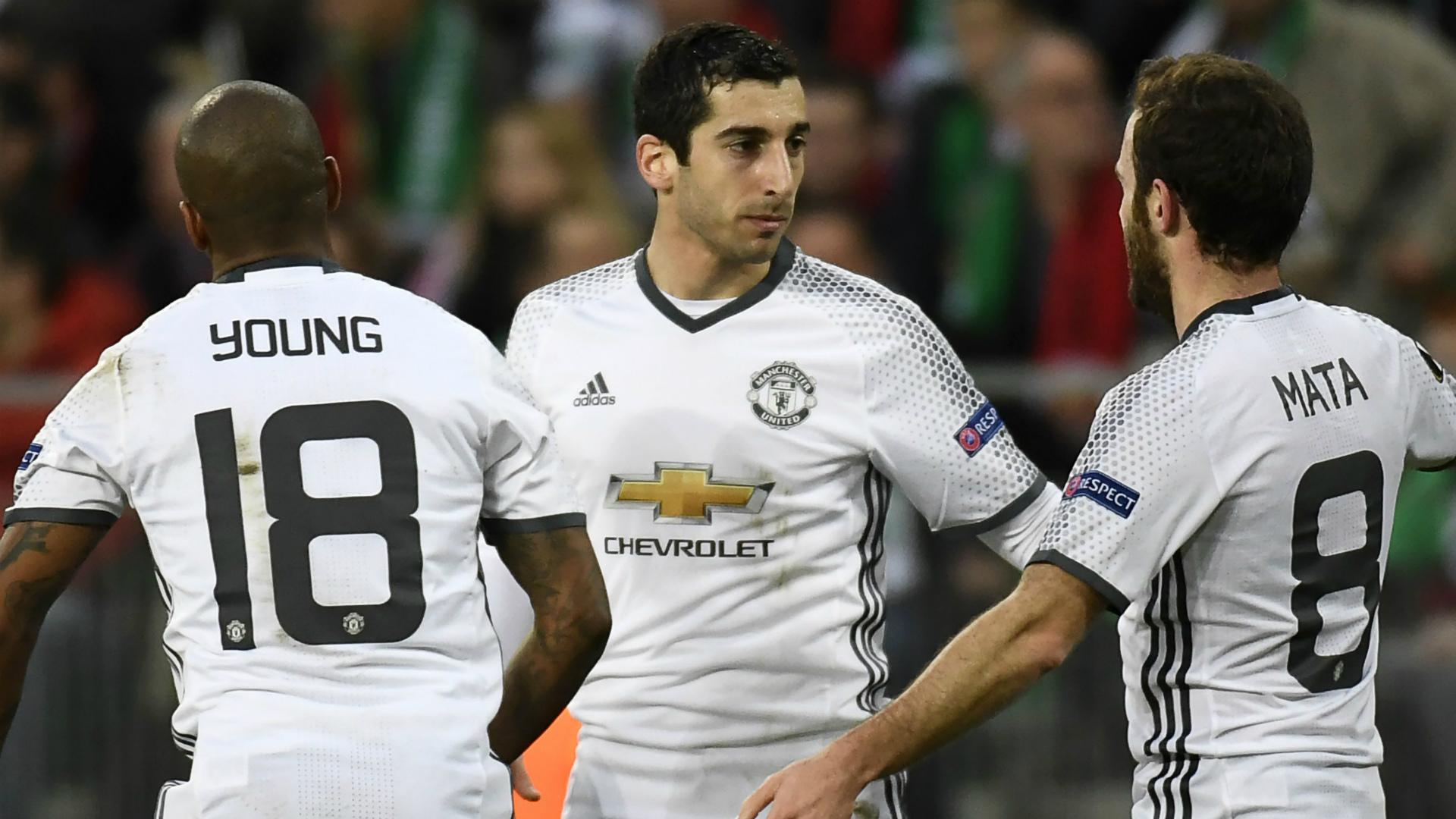 Henrikh Mkhitaryan Saint-Etienne Manchester United