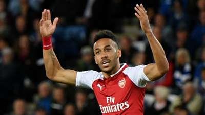 Pierre-Emerick Aubameyang Arsenal 2017-18
