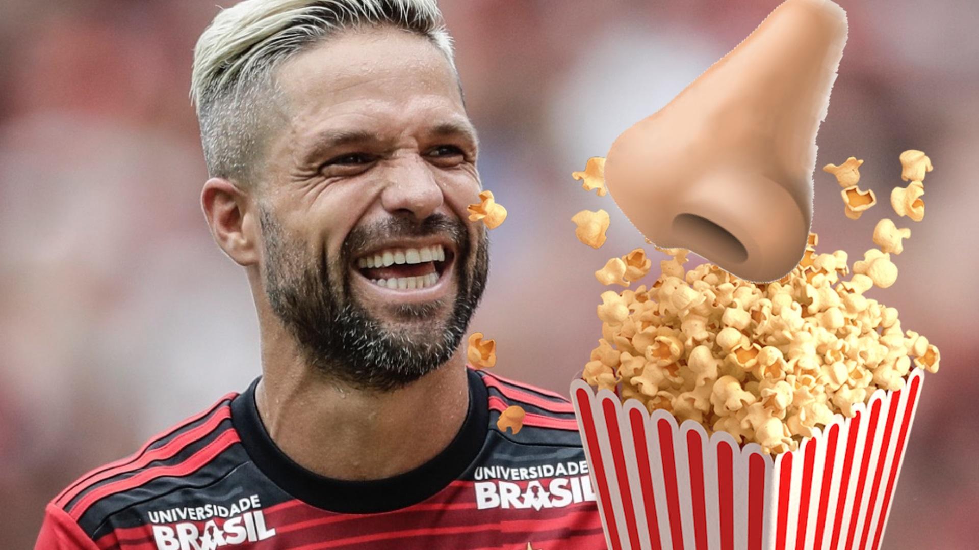 Flamengo Eliminado é Chuva De Memes Diego Pipoqueiro
