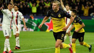 Erling Haaland Borussia Dortmund PSG UCL 02182020