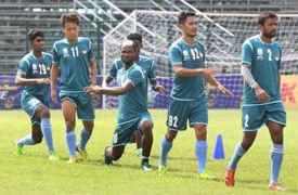 Mohun Bagan players in training