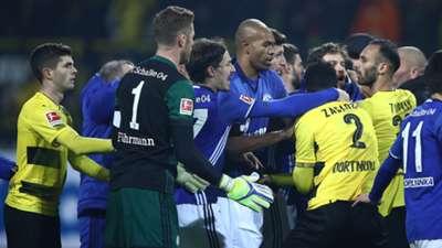 Borussia Dortmund Schalke 04 Bundesliga 1117