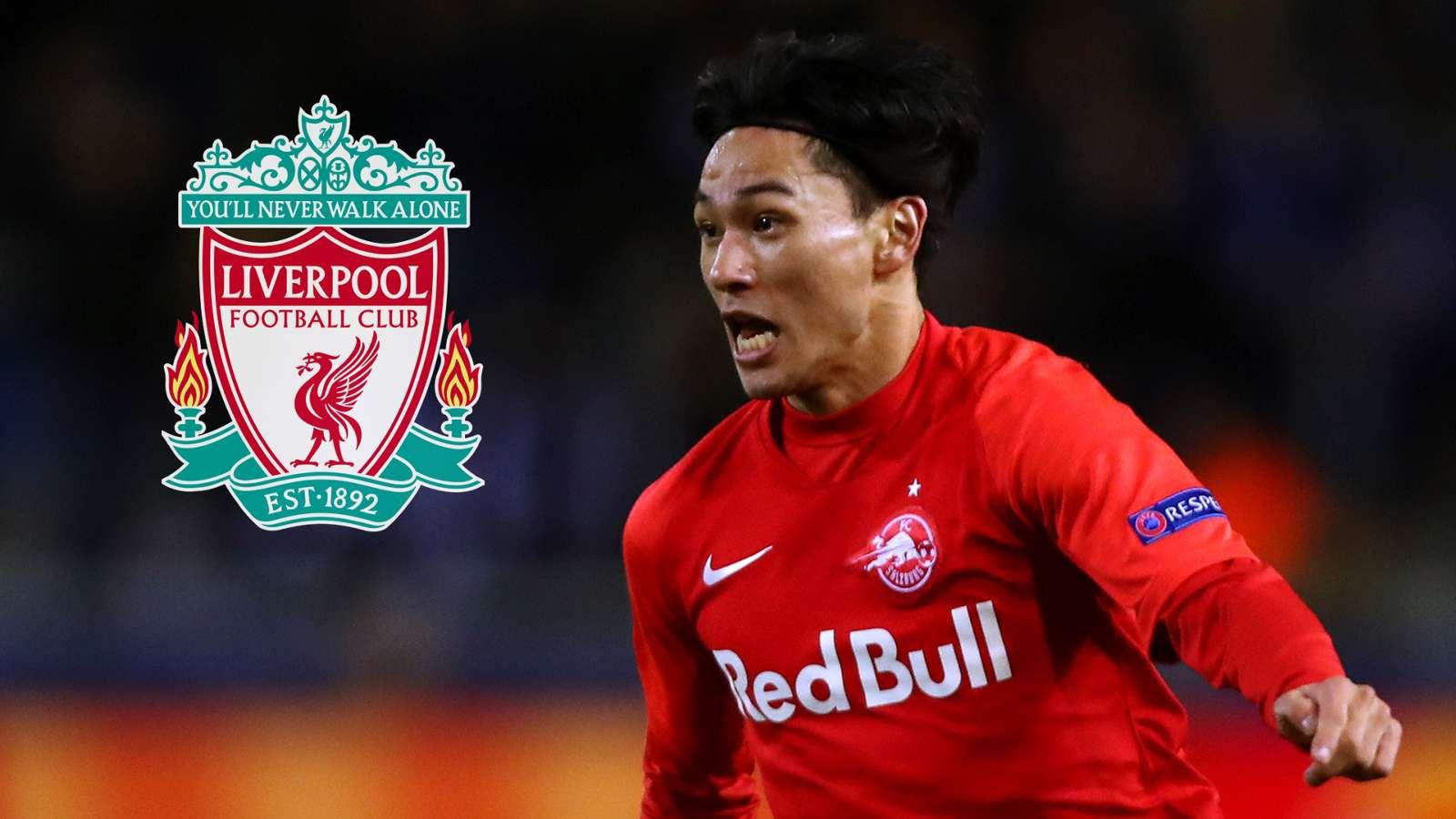 Liverpool set to beat Man Utd in £7.25m race for Minamino