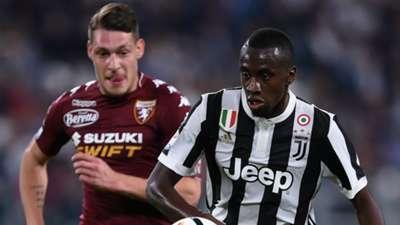 Belotti Matuidi Juventus Torino Serie A